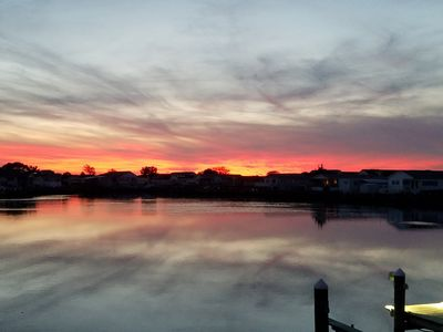 Beautiful Sunsets Right On The Water In Ocean City, MD