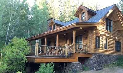 Photo for Log Cabin Retreat On 5 Acres