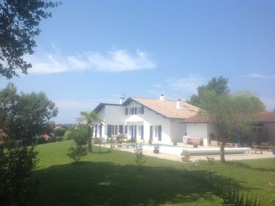 Photo for COMFORTABLE HOUSE, HEATED POOL, VILLAGE CLOSE TO BIARRITZ