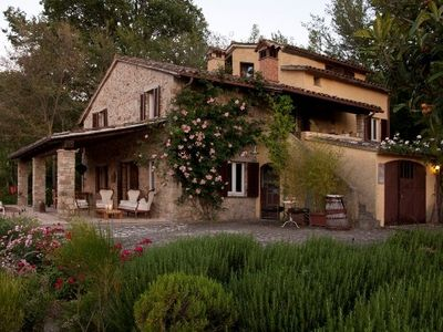 Photo for Villa in the green Umbrian country side between Perugia and Todi for  6 pax