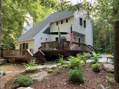 Photo for 4 Bedroom Year Round Lakefront Home On Swanzey Lake