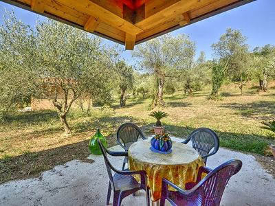 Photo for Villino Aracea B: A graceful cottage surrounded by vineyards and olive groves, with Free WI-FI.
