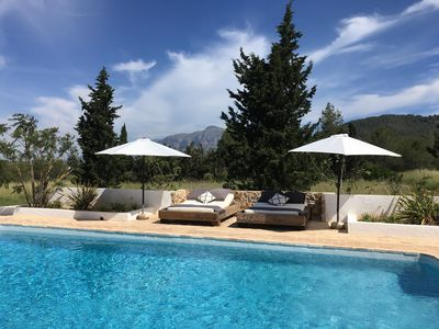 Photo for Luxury finca, near golf course and sea, with all privacy