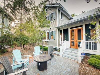 Photo for Watercolor Home by the Lake! Beautiful Interiors and Outdoor Entertainment Area!