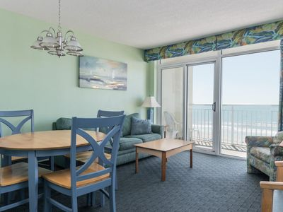 Photo for Baywatch Resort -  508 Budget friendly 2 bedroom unit overlooking the ocean!