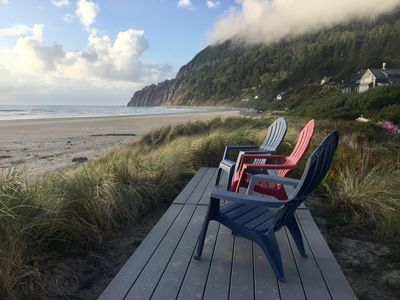 Photo for Manzanita Oregon Beachfront Home