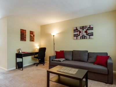Photo for Safe and clean apartment near SJC and DTSJ - One Bedroom Apartment, Sleeps 3