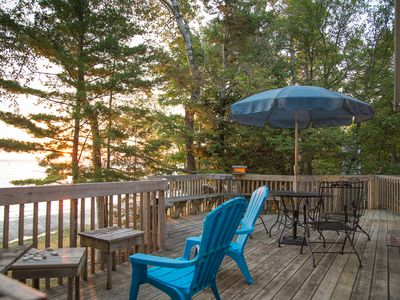 Photo for Northport Lake Michigan Cottage - Private Beach - Sleeps 6