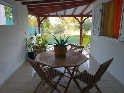 Photo for RENTAL T3 SUN HOLLIDAYS ANY COMFORT SAINTE-ANNE GUADELOUPE