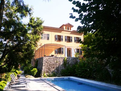 Photo for Rental 665 GRA, views, private pool, 20 km from the resort of Cannes