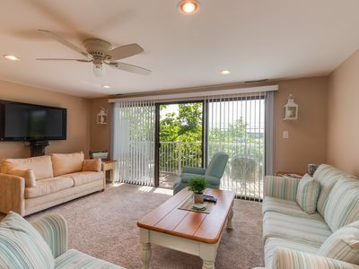 Photo for Comfortable family-friendly condo w/ a private balcony & shared indoor pool