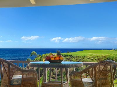 Photo for Pali Ke Kua #231 - Amazing OCEAN FRONT views - access to private beach