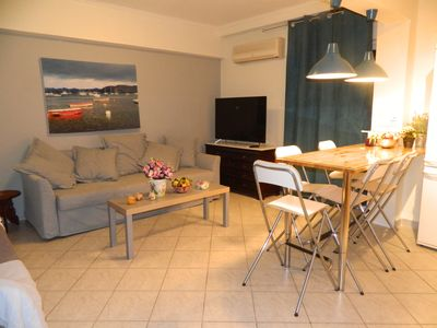 Photo for 2BR Apartment Vacation Rental in Palea Fokea