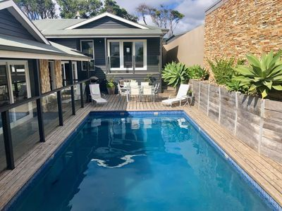 Photo for Luxury Blairgowrie Beach Retreat with swimming pool and spa