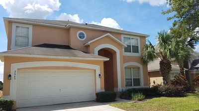 Photo for Emerald Island - Spacious Pool Villa, 4 Master Suites, gated Resort, close to DISNEY