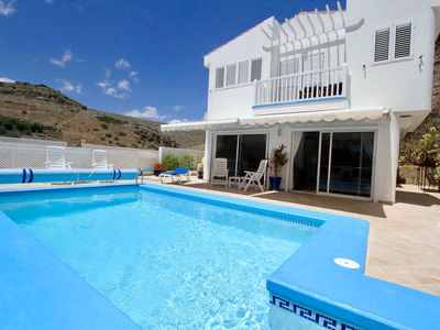 Photo for * A Beautiful Villa with Private Solar Heated Pool, Air-Conditioned & Wi Fi