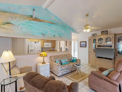 Photo for Dog-friendly, waterfront home w/ access to a shared pool & hot tub