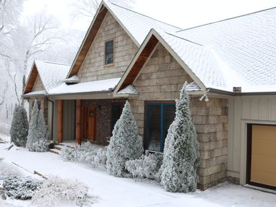 Photo for Sugar Chalet luxury moutain home at the top of Sugar Mountain