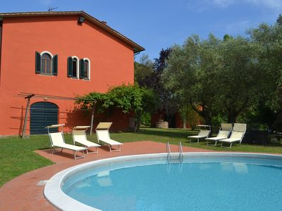 Photo for Charming Villa with private pool between Lucca and Florence