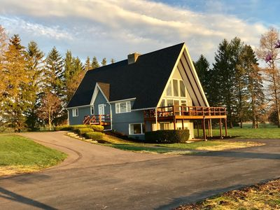 Photo for Finger Lakes Wine Country Chalet