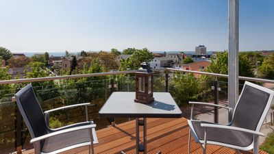 Photo for Jasmund pearl | 93 sqm, max. 4 persons, sea view - villa on the chalk breach | JASMUNDPERLE with panoramic view