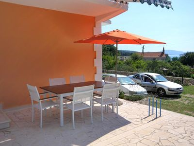 Photo for Two bedroom apartment with terrace and sea view Slano (Dubrovnik)