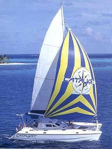 Catalyst Sailing in the BVI