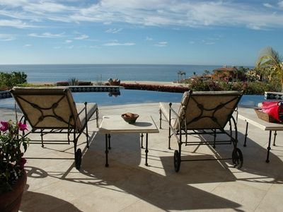 Photo for Stunning 5BR/6BA Oceanfront Villa in Cabo Del Sol