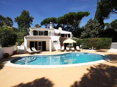 Photo for A magnificent, luxurious villa, beautifully furnished and set in pretty gardens within walking dista