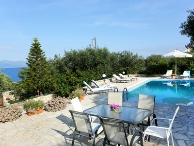 Photo for Villa Ilios, Paxos - 3 bedrooms with private pool & Wi-Fi !!!