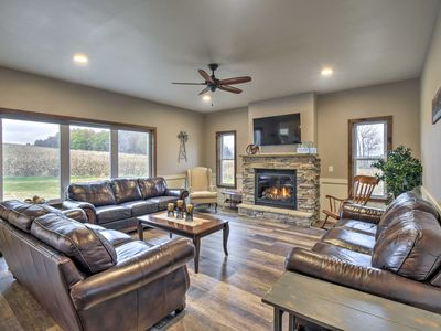 Photo for NEW-Luxe Wisconsin Dells Home w/Dock & Lake Access