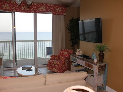 Photo for Beautiful 6th Floor 2BR/2BACondo- 2 King BR, 2 BA + BUNK ROOM! + Beach Service