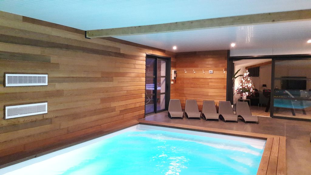 Property Image#6 LUXURY VILLA Indoor Pool And Spa 37 ° C Outside