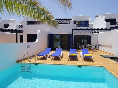 "Photo for House a short walk away (66 m) from the ""Playa Las Coloradas"" in Playa Blanca with Internet, Washing machine, Air conditioning, Pool (139005)"