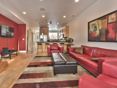 Photo for Modern SLC Townhome. Light and Bright. Sleeps 8.