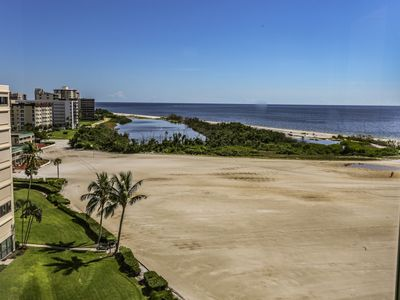 Photo for Sandarac 907B is a stunning, remodeled, newly furnished 9th floor beachfront condo