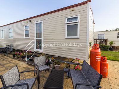 Photo for 6 berth caravan for hire at Broadland sands holiday park in Suffolk ref 20144