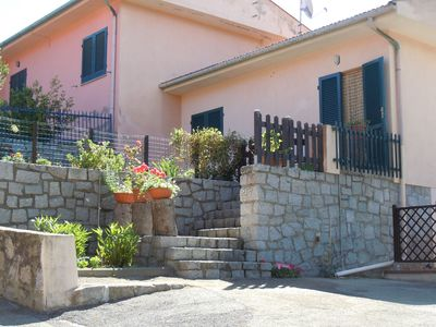 Photo for Il Pino apartments, loc. Procchio - Located in the center, in the small charming village of Procchio far only 200 mt from Procchio's beach.