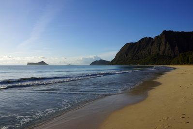 Waimanalo Beach -  listed yearly as one of America's Best Beaches.