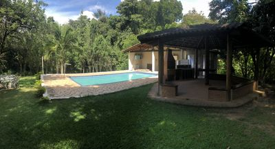 Photo for Chacara with Pool, Barbecue and Lake