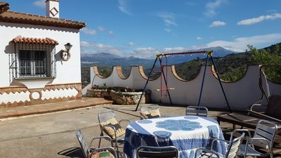 Photo for Private Villa and pool. sleeps 5. WIFI. English TV. BBQ.Pizza oven. Parking.