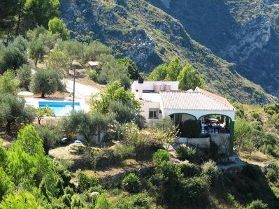 Villa Majones, La Safor Mountains and River Serpis