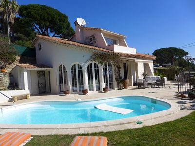 Photo for House in Sainte-Maxime with Parking, Internet, Washing machine, Pool (650142)
