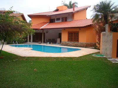 Photo for RIVIERA-JANEIRO! Great house (380m2) 100m from the beach! 4 suites with pool and pool