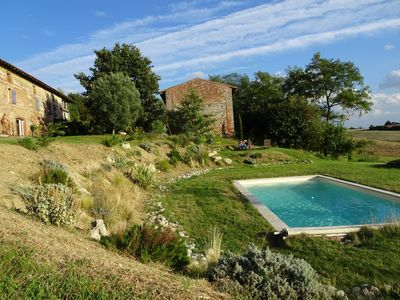 Photo for 4-room suite (75 m2) in a farm with character, swimming pool, fitness room