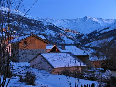 Photo for Savoy apartment summer winter the heart of a mountain village 1500m
