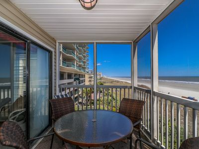Photo for Incredible Views of Ocean and Full Shore line/Beach Chairs/Pool