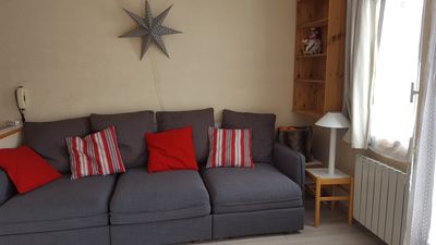 Photo for Belle Plagne 2 rooms 4/5 people residence Callisto view mountain full south