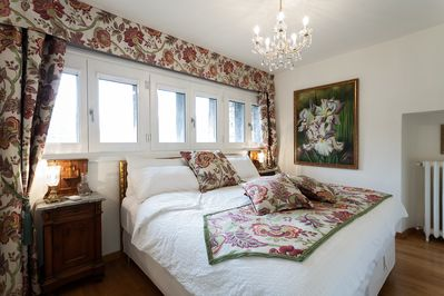 Incredible views from Bedroom with king bed that can be configured as 2 twins