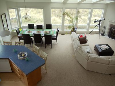Photo for Waldport Ocean Front Home***Amazing 6 mile beach right out back door!